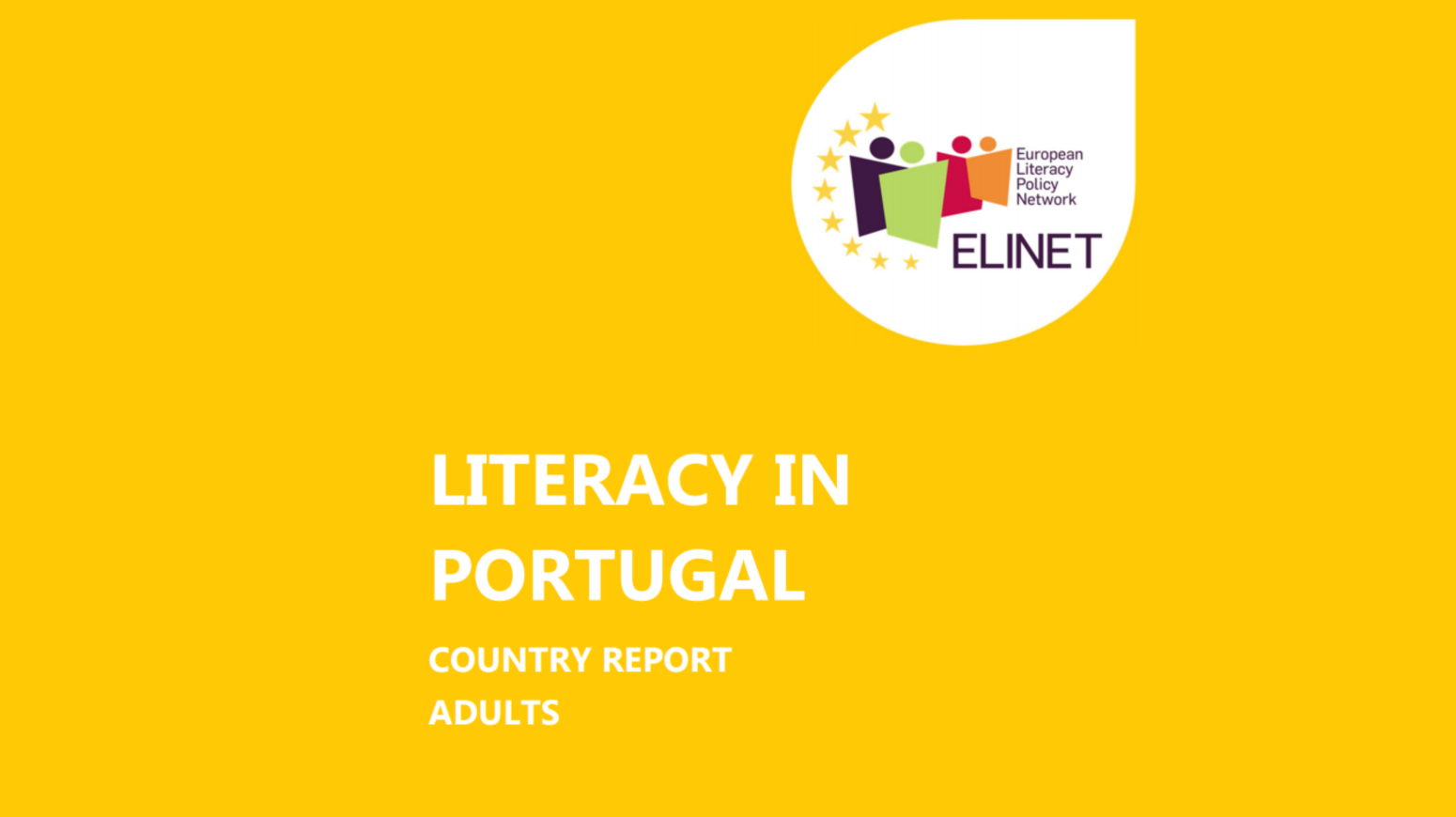 Literacy in Portugal - Country report<br>Adults